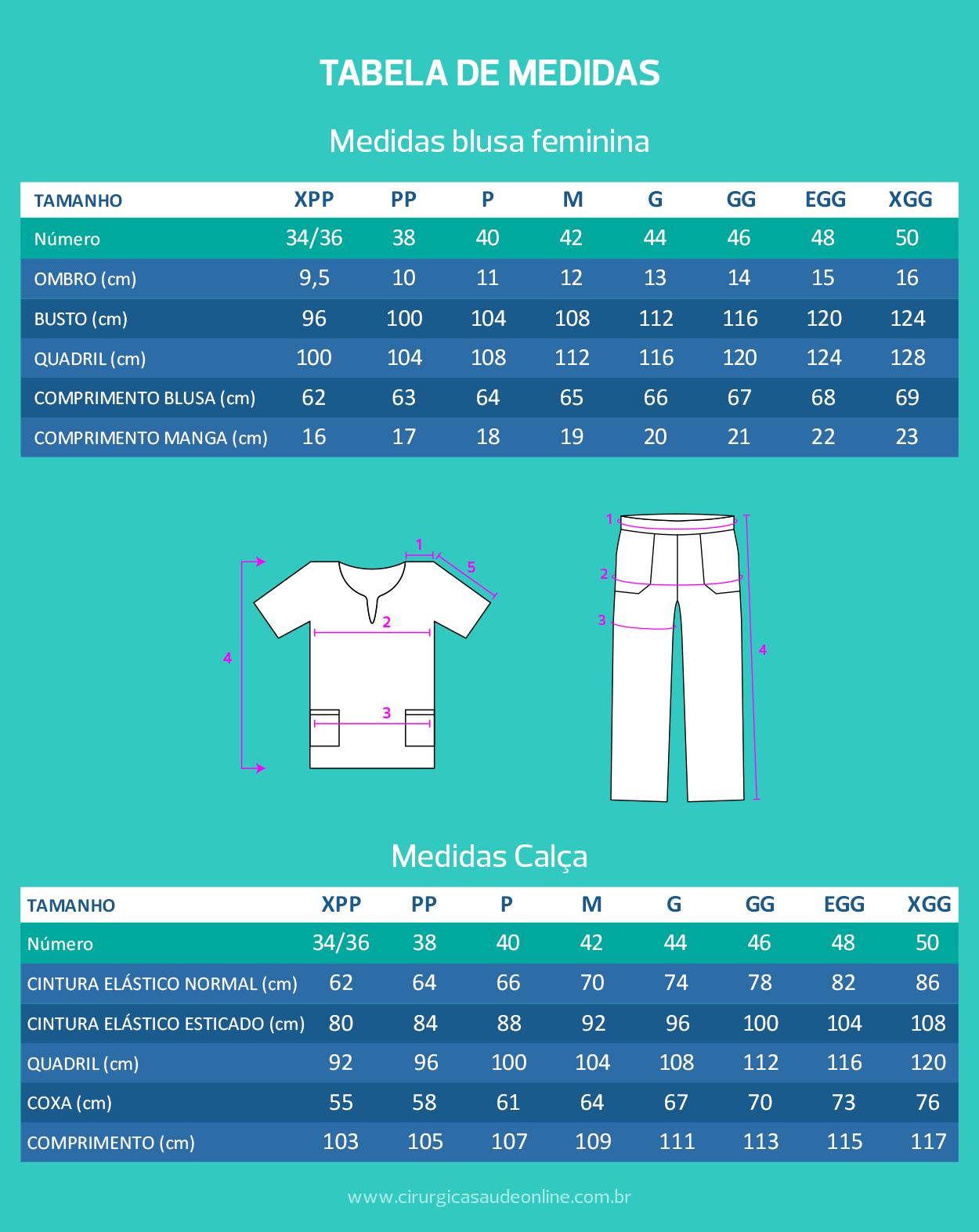 tabela-conjunto-pijama-cirurgico-feminino-sarja-pink-detalhes