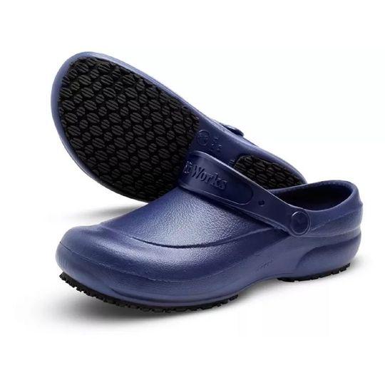 7542a99156 Sapato EVA Soft Works Antiderrapante Ref. BB60 Azul Marinho - Cirúrgica  Saúde - Cirurgica Saude Online
