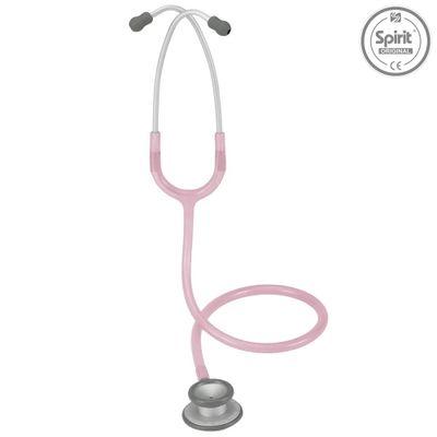 Estetoscopio-Spirit-Pro-Lite-Adulto-Rosa-Transparente