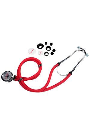 Estetoscopio-Rappaport-Duplo-Premium-Vermelho