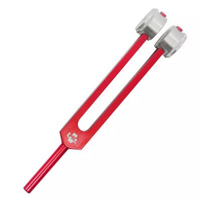 Diapasao-Medico-128-Cps-Com-Fixador-Vermelho-MD