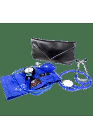 Conjunto-Aparelho-de-Pressao-Metal-e-Estetoscopio-Duplo-Bic-Azul-Royal