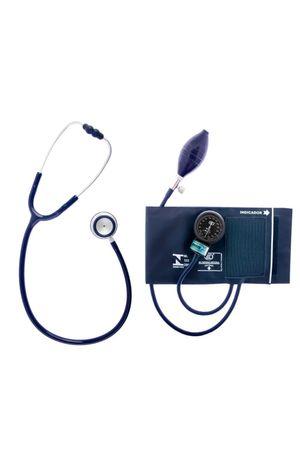 Conjunto-Aparelho-de-Pressao-Velcro-e-Estetoscopio-Duplo-Azul-Bic