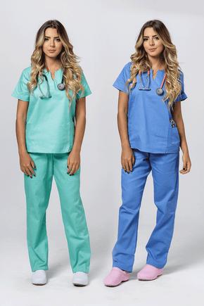 kit-conjunto-pijama-cirurgico-feminino-verde-medicina-azul-1