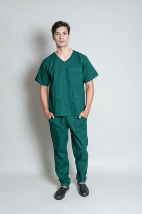 conjunto-pijama-cirurgico-masculino-brim-leve-verde-escuro-1