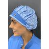 touca-cirurgica-feminina-tricoline-azul-xadrez-2